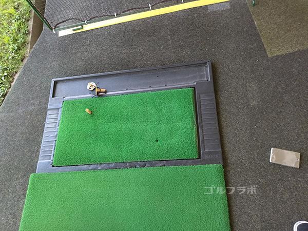 青和ゴルフセンターの打席