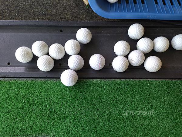 青和ゴルフセンターのボール