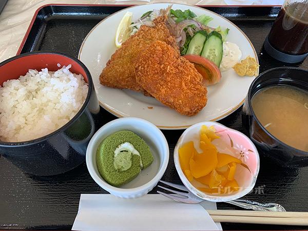 八洲カントリークラブの食事