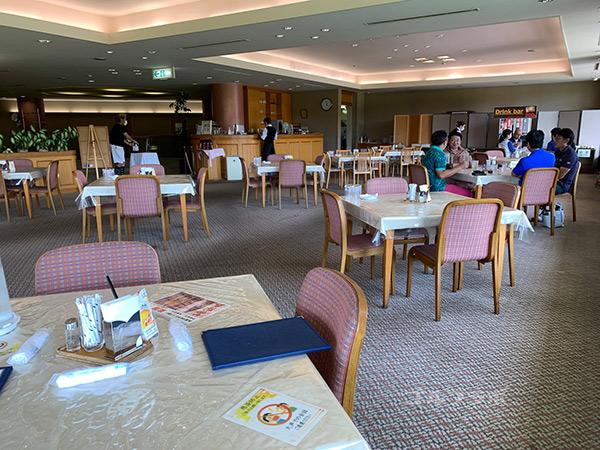 八洲カントリークラブのレストラン